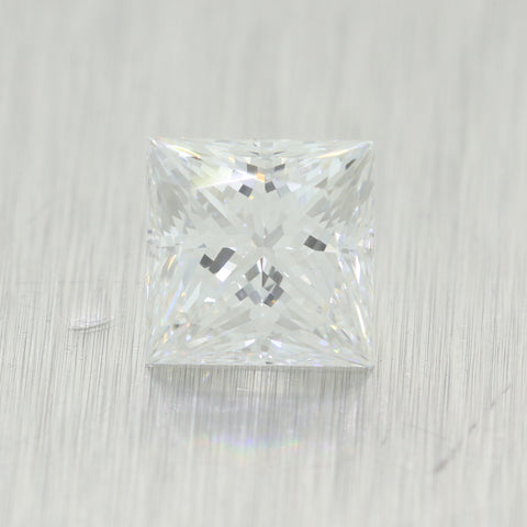 2.08ct GIA Princess Shape Brilliant Cut G VS2 Natural Modern Loose Diamond