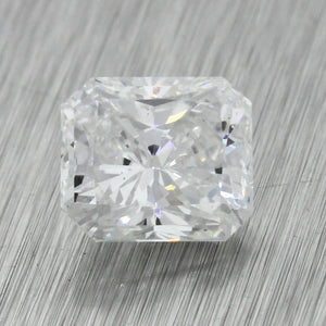 2.06ct GIA Certified Radiant Brilliant Cut F VS2 Natural Loose Diamond