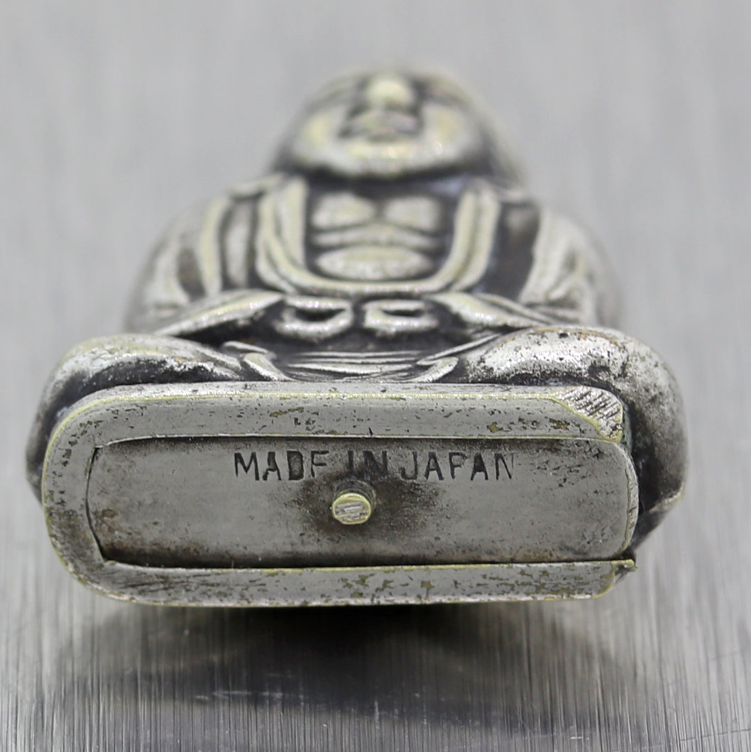 Buddha 1940's Vintage Estate Made in Japan Sterling Silver Charm Pendant