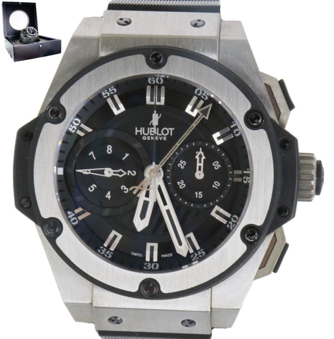 Mint Hublot Big Bang King Foudroyante Zirconium Ceramic 715.ZX.1127.RX Titanium