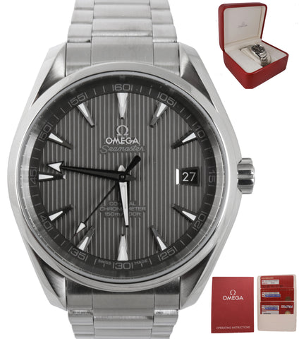 2018 Omega Seamaster Aqua Terra Automatic Stainless 231.10.42.21.06.001 41.5mm G