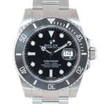 DEC NEW 2019 PAPERS Rolex Submariner Date 116610 Steel Black Ceramic Watch Box