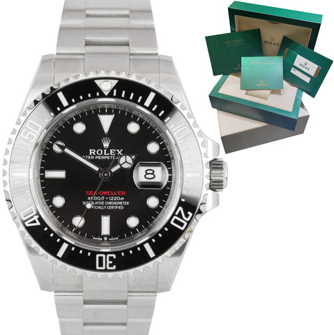 NEW AUG. 2019 Mark II Rolex Red Sea-Dweller 43mm 50th Anniversary 126600 Watch