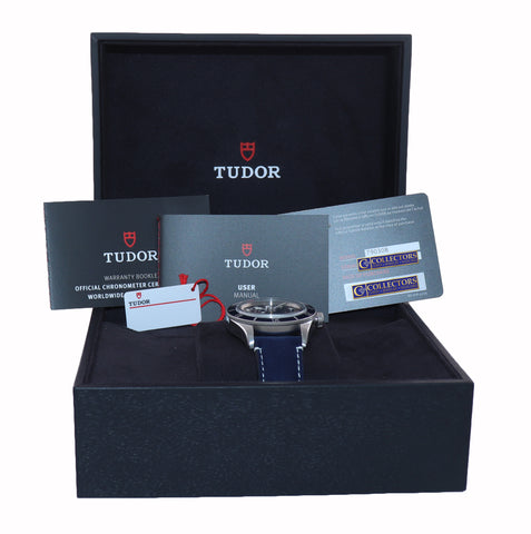 PAPERS NOVEMBER 2020 Tudor Black Bay Fifty Eight 58 BLUE Steel Watch 79030b Box