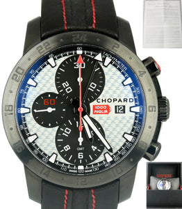 Chopard Mille Miglia Zagato Edition PVD Chronograph Leather Band 42.5mm Watch