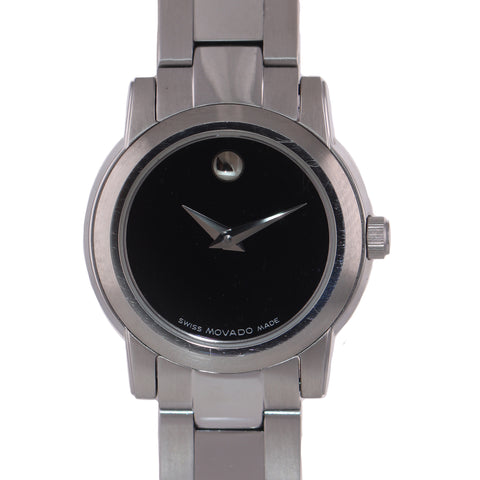 Ladies Movado Museum Stainless Steel 84 E4 1846 Quartz 25mm Watch