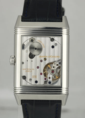 Jaeger LeCoultre JLC Grande Reverso 976 Stainless Steel 273.8.04 Q3858520 Watch
