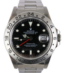 RARE 1991 Tiffany & Co. Rolex Explorer II 16570 Black Stainless 40mm Watch