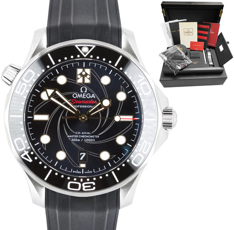 OMEGA Seamaster Diver 300M Co-Axial James Bond 42mm Watch 210.22.42.20.01.004
