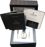 Corum Admiral's Cup Stainless MOP Diamond 01.0098 Moon Phase Blue 40mm Watch