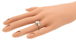Ladies Modern 1.45ctw Pear Diamond 14K 585 White Gold Engagement Ring EGL USA