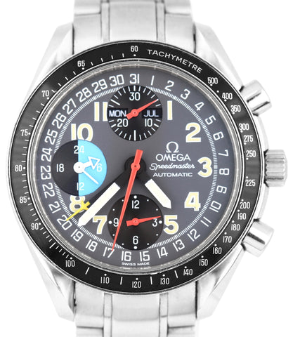 Omega Speedmaster Chronograph MK40 Triple Calendar 39mm Automatic 3520.53