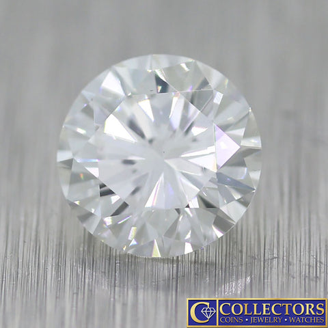 1.26ctw GIA Certified Round Brilliant Cut G VS1 Natural Modern Loose Diamond S8