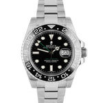 2018 Rolex GMT-Master II Stainless Steel Black 40mm Ceramic 116710 LN Date Watch