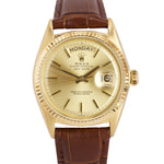 MINT 1967 Rolex Day-Date President 36mm Champagne 18K Yellow Gold Watch 1807