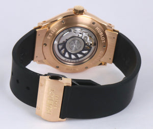 MINT Hublot Classic Fusion 41mm Automatic 1915.NE10.8 18K Rose Gold Black Watch