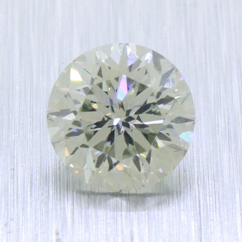 GIA 2.00ct RARE Greenish Chameleon I1 Round Modified Brilliant Loose Diamond