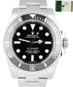 2016 Stickers Rolex Submariner No-Date 114060 Stainless 40mm Watch SCHLUMBERGER