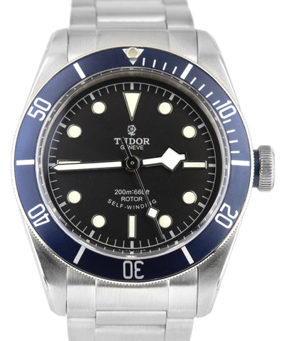Tudor Black Bay Heritage Blue Bezel 79220B 41mm Stainless Steel Automatic Watch