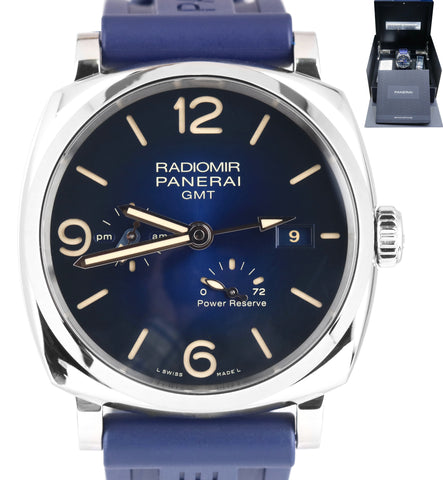 MINT 2019 Panerai Radiomir 1940 3 Days GMT PAM00946 Automatic PAM 946 Stainless