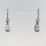 Tiffany & Co. Elsa Peretti Sterling Silver Tear Drop Earrings
