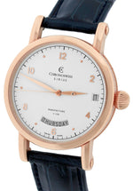 Men's Chronoswiss Day Date Sirius Manufacture 40mm Rose Gold CH-1921R Watch
