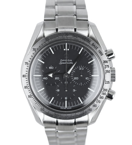 Omega Speedmaster Broadarrow Chronograph Stainless Black 42mm Automatic 3594.50