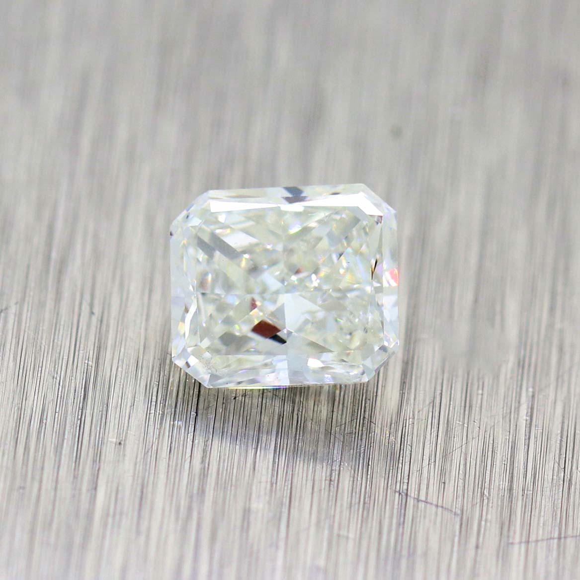 1.01ctw Radiant Cut H Color SI1 Clarity GIA Loose Diamond