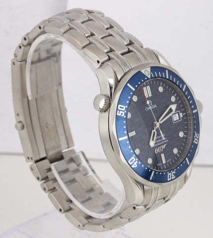 Omega Seamaster James Bond 40th Anniversary 2537.80 41mm Automatic Blue Watch