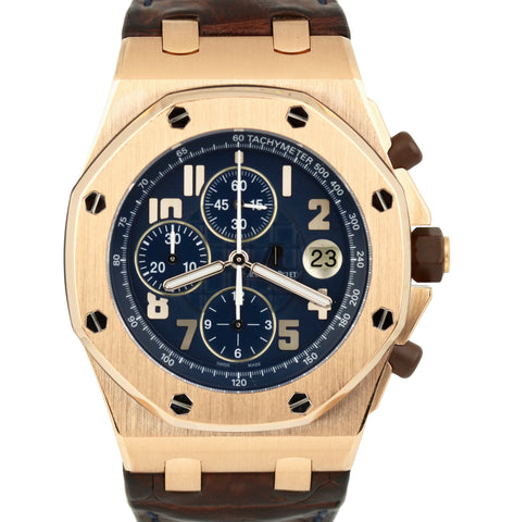 Audemars Piguet Pride of Argentina 42mm 18K Gold 26365OR.OO.D801CR.01 Automatic