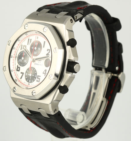 2010 Audemars Piguet Royal Oak Offshore Reverse Panda Red 26170ST.OO.D101CR.02