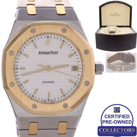 MINT Audemars Piguet Royal Oak Date Two Tone Gold 14790SA.OO.0789SA.08 Watch C8