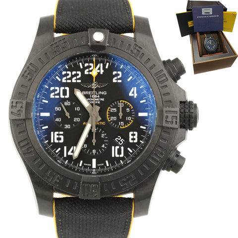2020 Breitling Avenger Hurricane Carbon 45mm XB1210E41 Rubber Automatic Watch