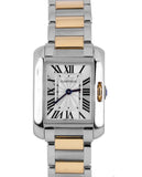 2016 Ladies Cartier Tank Anglaise 3485 W5310036 Rose Gold Two Tone Quartz Watch
