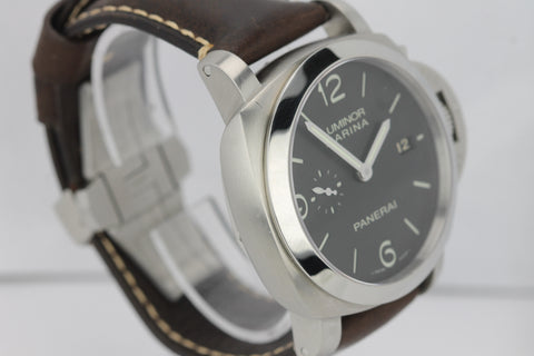 2018 SERVICED Panerai PAM00312 Luminor 1950 Automatic PAM 312 44mm Date Watch