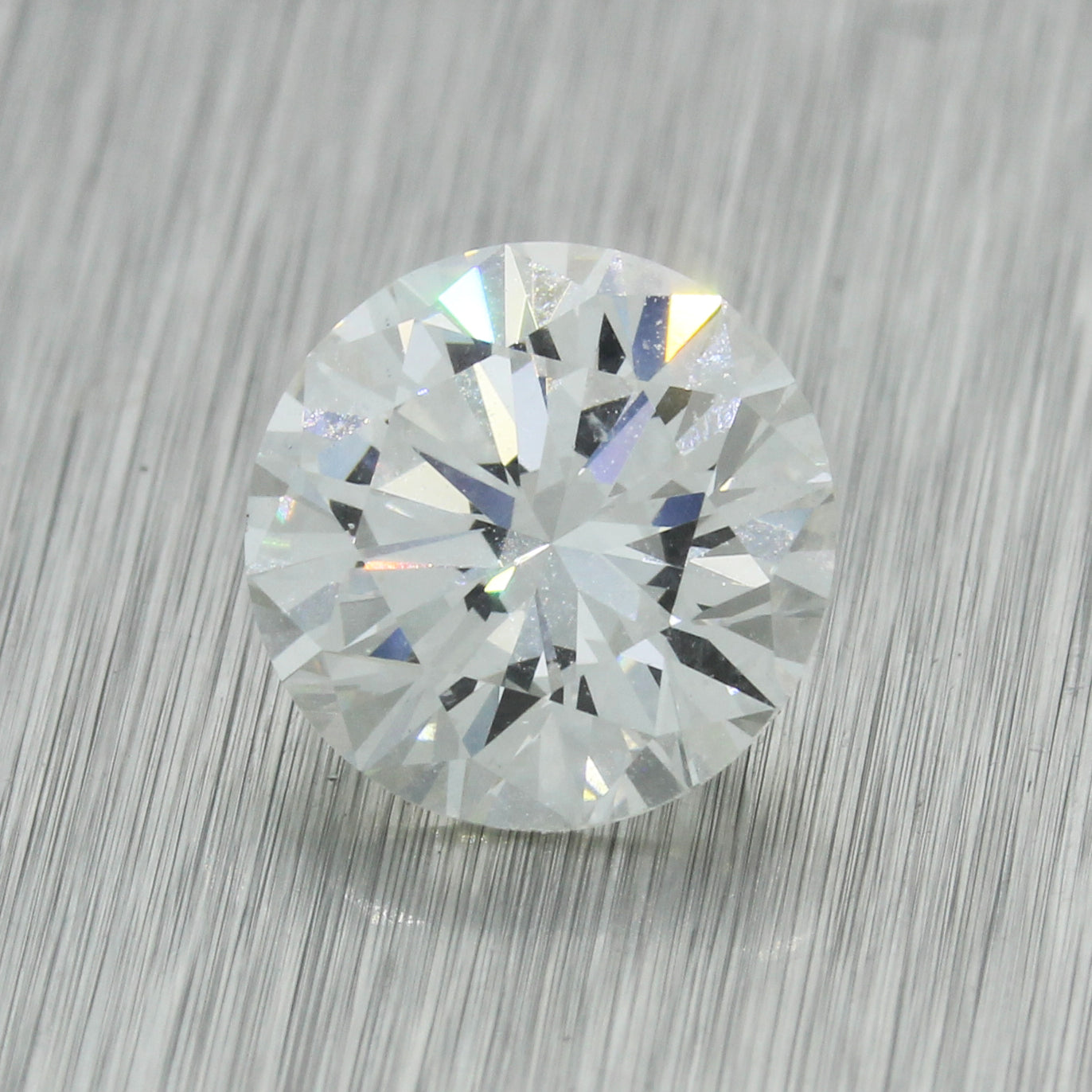 2.01ct GIA Certified Round Brilliant Cut I SI1 Natural Modern Loose Diamond