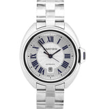 NEW 2017 Cartier Clé Cle Automatic WSCL0005 3867 41mm Stainless Steel Date Watch