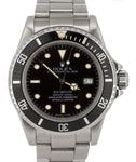 Vintage 1984 Rolex Sea-Dweller 16660 Patina 'Triple Six' Stainless 40mm Watch