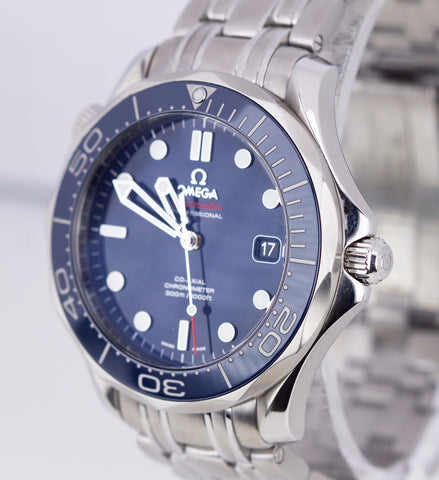 Omega Seamaster Professional 300M 212.30.41.20.03.001 Blue Automatic 41mm Watch