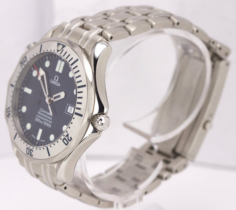 Omega Seamaster Professional 300 Stainless Blue Automatic Date Watch 2532.80.00