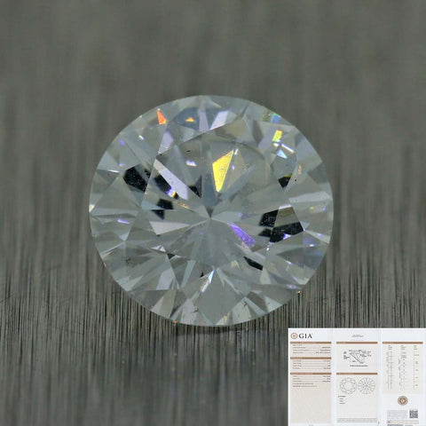 2.14ct GIA Certified Round Shape Brilliant Cut F VS2 Natural Modern Diamond