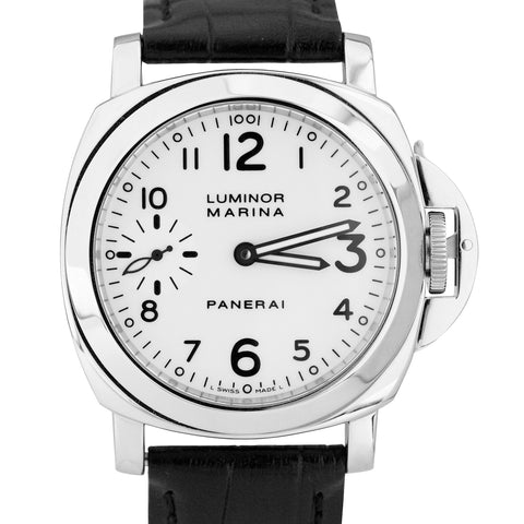Panerai PAM 003 Luminor Marina White Stainless Steel 44mm Watch PAM00003