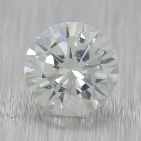 2.54ct GIA Certified Round Brilliant Cut I SI2 Natural Modern Loose Diamond