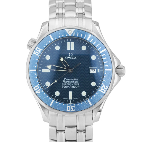 OMEGA Seamaster Professional 300 Blue Wave Automatic Steel 41mm Watch 2531.80