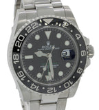 MINT Rolex GMT Master II 116710 Steel Ceramic Black Ceramic Watch BoxPapers G8