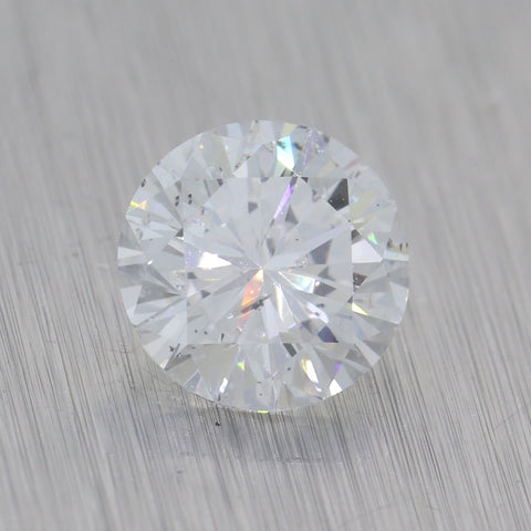 1.20ct GIA Certified Round Brilliant Cut D I1 Natural Modern Loose Diamond