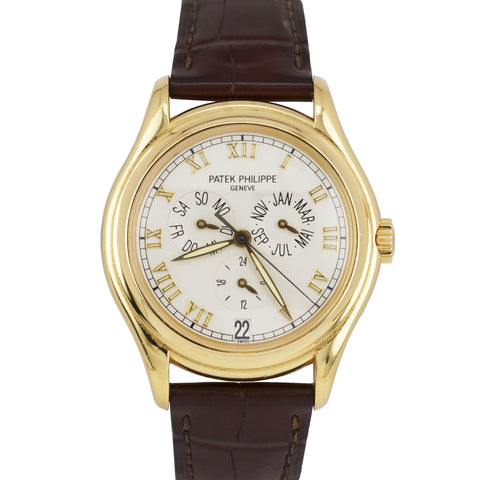 Patek Philippe Annual Calendar 18k Yellow Gold 37mm 5035 J Automatic Watch 5035J