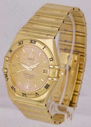 Omega Constellation 95 Champagne 18K Yellow Gold 36mm Automatic Watch 1102.10.00