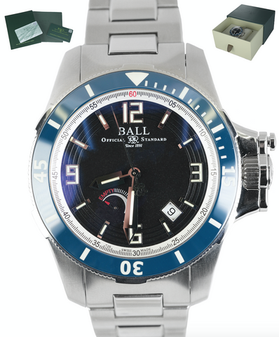 Ball Watch Engineer Hydrocarbon Hunley PM2096B Stainless Steel 42mm Automatic