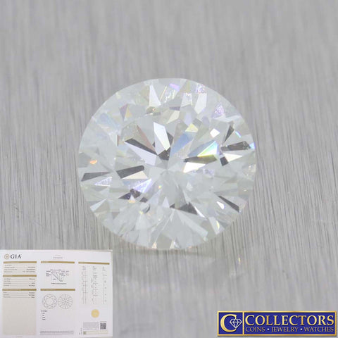 3.00ctw GIA Certified Round Brilliant Cut I VVS2 Natural Modern Loose Diamond G8